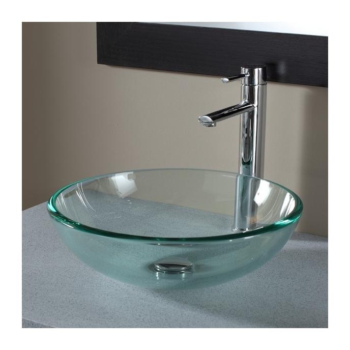 la vasque en verre