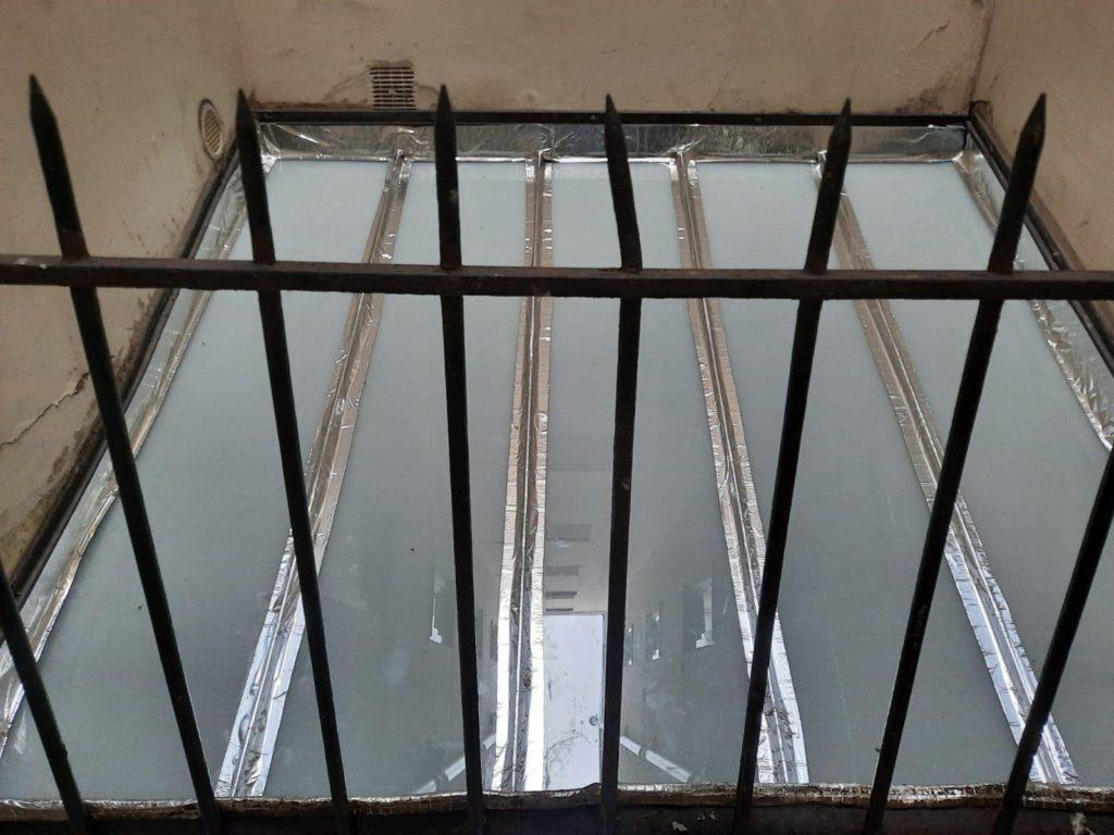 Remplacement vitre verrière sur Paris