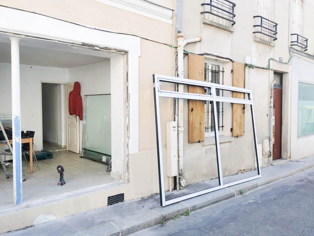 Installation baie vitrée sur Paris